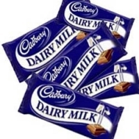 5 items cadbury