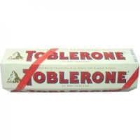 6 Toblerone white