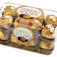 16 pieces of Ferrero