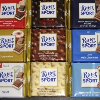 RitterSport Chocolates - 6 Nos
