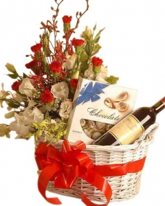 Basketful of Treats - Flowers and Gift Baskets