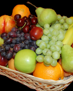 10 items fruits