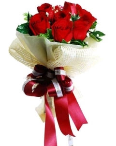 6 Imported Roses for valentines special