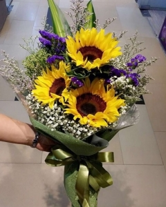 ####3 sunflower bouquet